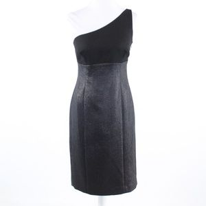 Black SUSANA MONACO one shoulder dress 4